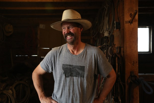 Dean Peterson is a fourth-generation rancher ...