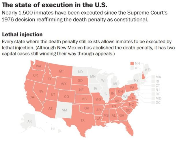 States look to fentanyl as latest method of execution – The Denver on