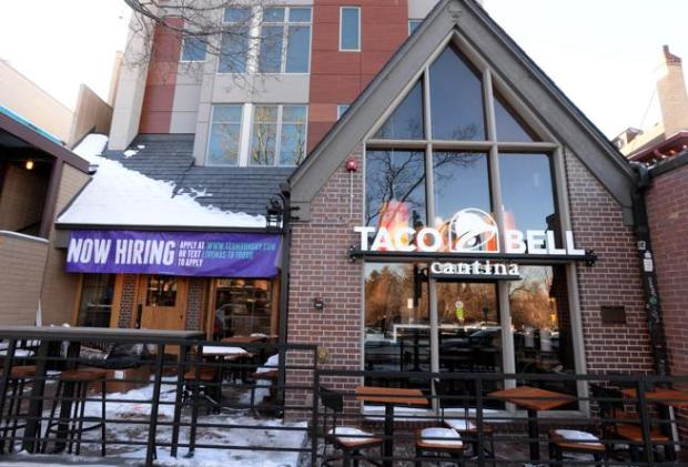 Taco Bell Cantina is coming to the The Hill in Boulder.