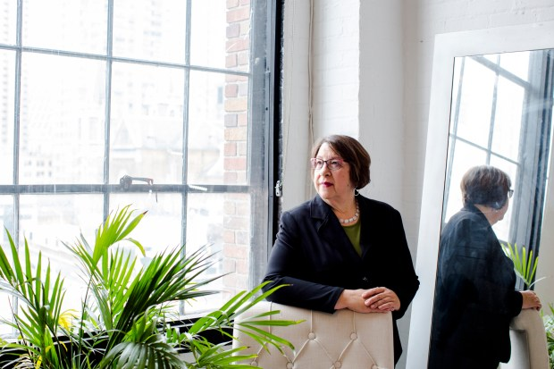 """""""Within the ranks, we feel like our system was hijacked,"""" said Helen Kaupang, who worked on the Colorado case. Kaupang, seen in New York last month, was a DEA investigator and supervisor for 29 years before she retired in September."""