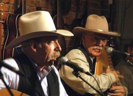 Bill Barwick (left)