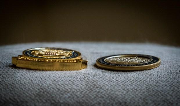 Presidential coin undergoes a Trumpian makeover – The Denver