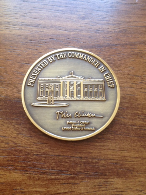 Presidential Coin Undergoes A Trumpian Makeover The