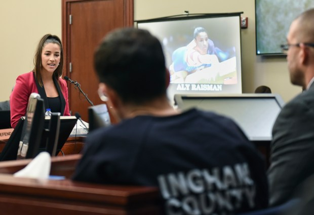 Former Olympian Aly Raisman was among 150 women who appeared in a Michigan courtroom this month to testify against Larry Nassar, the former USA Gymnastics doctor who was sentenced to 40 to 175 years in prison last week on molestation charges.