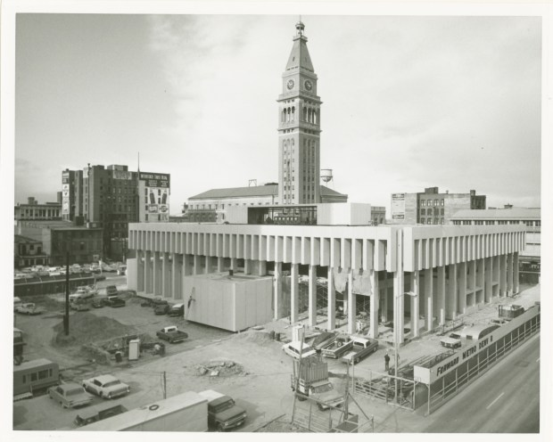 Construction on the Denver Branch of ...