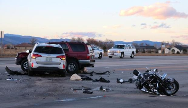 Three Cars And A Motorcycle Were Involved In Crash At The Intersection Of US 287