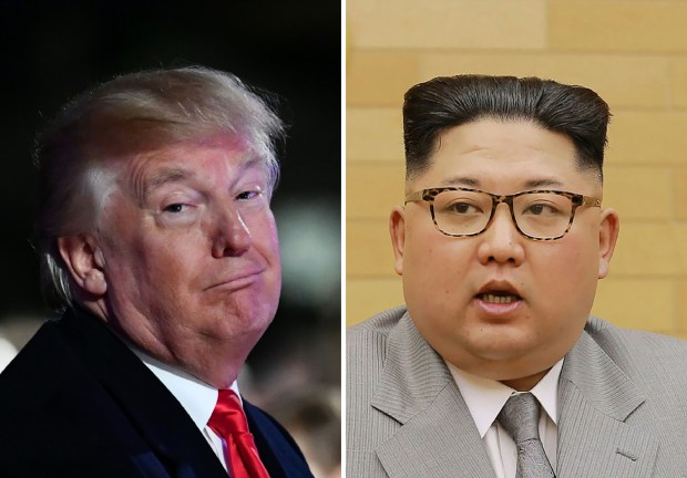 """President Donald Trump said on Jan. 2 via Twitter: """"North Korean Leader Kim Jong Un just stated that the 'Nuclear Button is on his desk at all times.' Will someone from his depleted and food starved regime please inform him that I too have a Nuclear Button, but it is a much bigger & more powerful one than his, and my Button works!"""""""