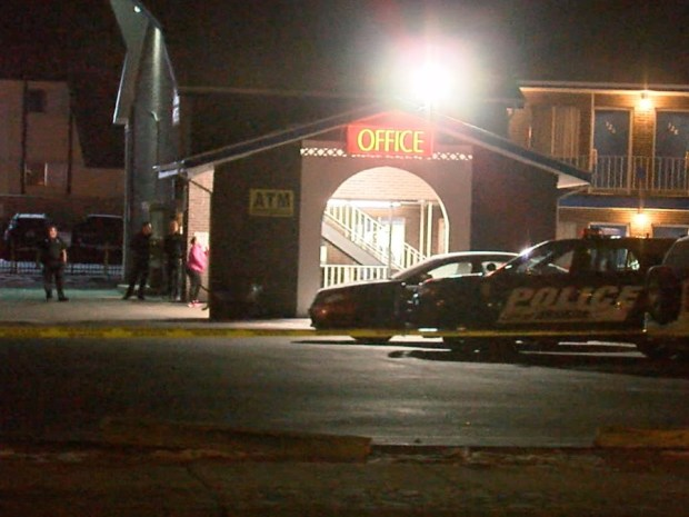Police responded to a shooting at Best Interstate Inn, 4735 Kipling St., a little after 3:30 a.m. Monday.
