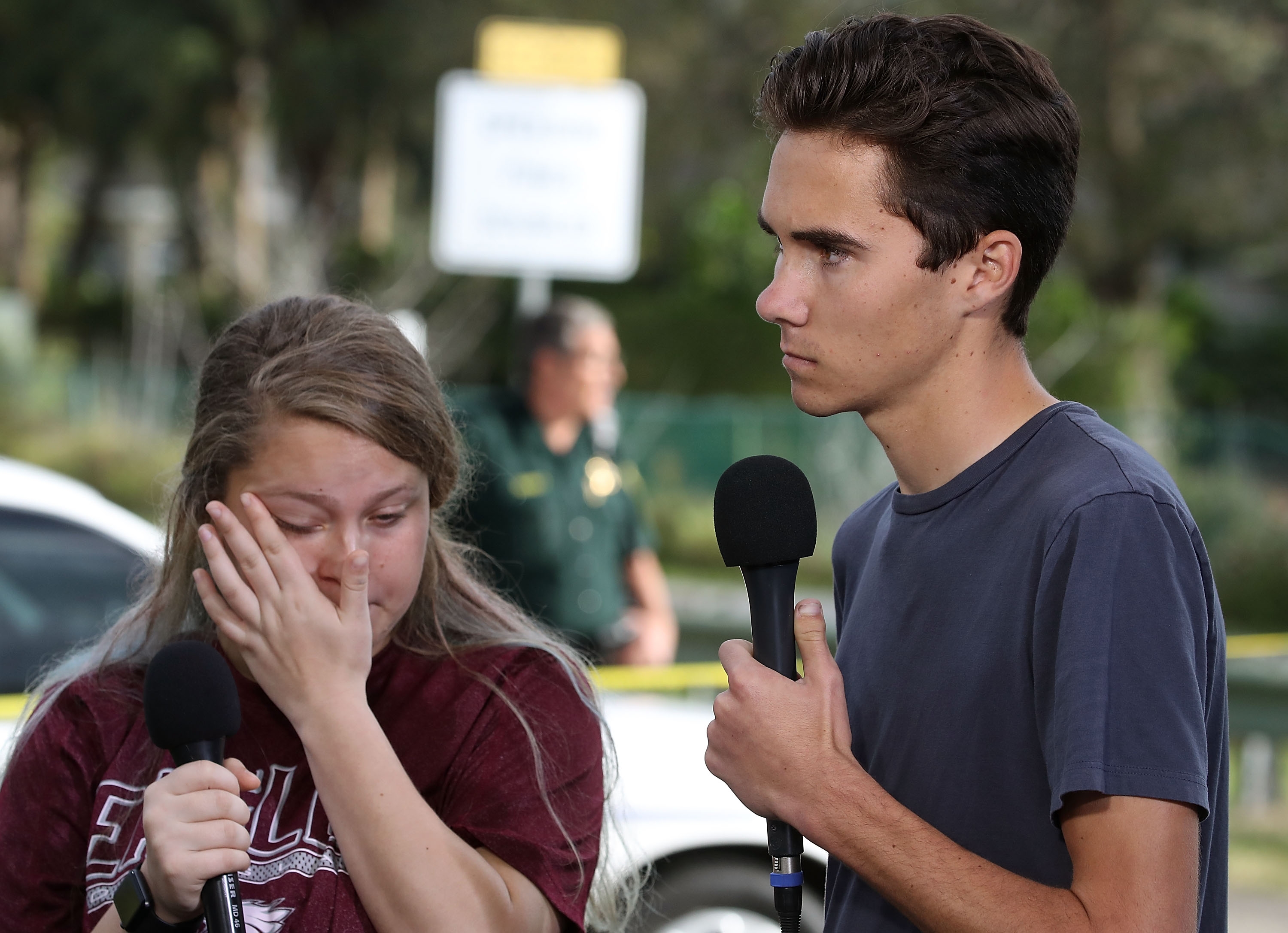 'Crisis actors?' No, say Douglas High students