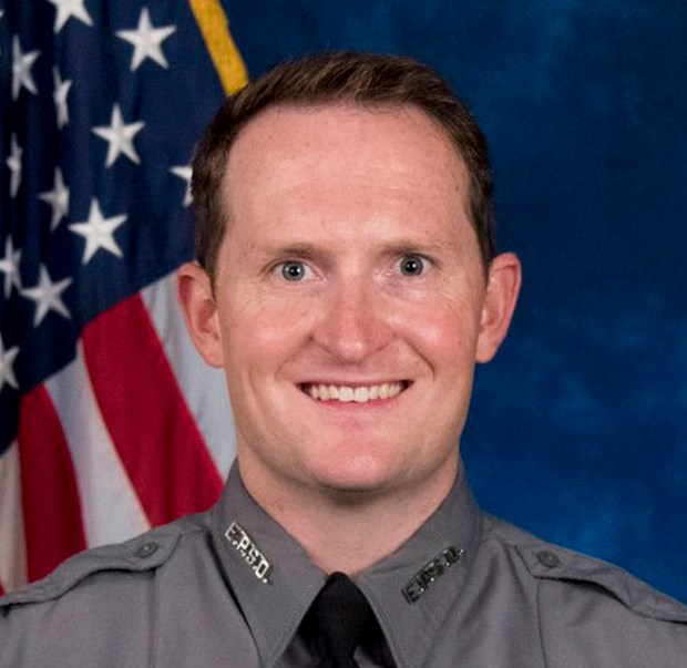 El Paso County sheriff's Deputy Micah Flick was killed Monday.