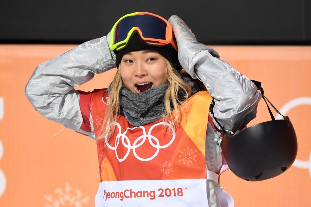 Chloe Kim of the United States ...