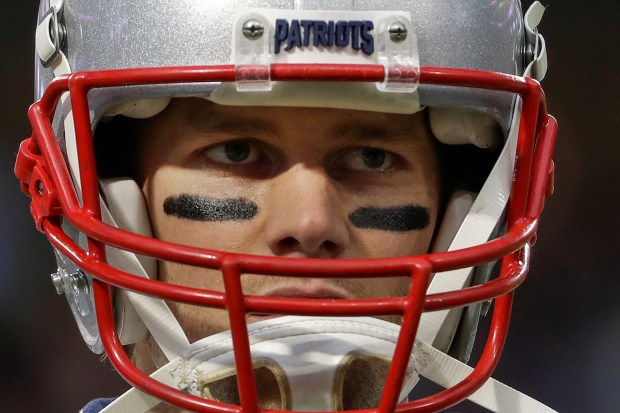 New England Patriots quarterback Tom Brady ...