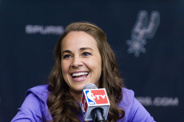 WNBA star Becky Hammon takes questions ...