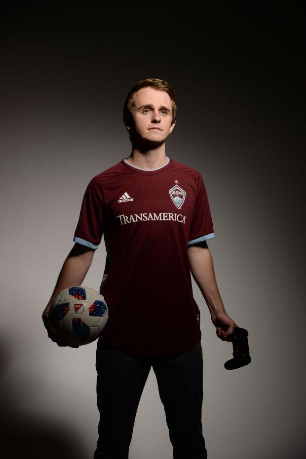 Colorado Rapids eSports gamer Connor Buckley.
