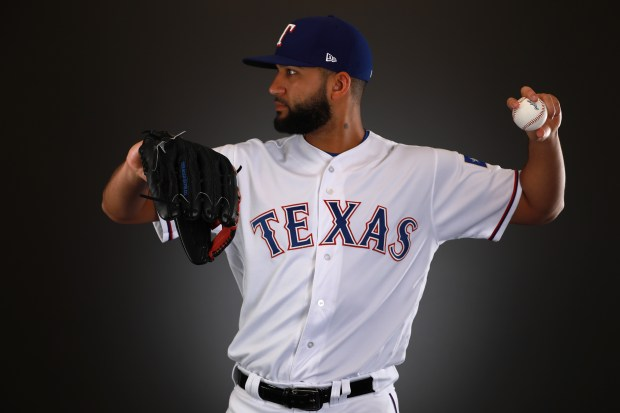 Nomar Mazara #30 of the Texas ...