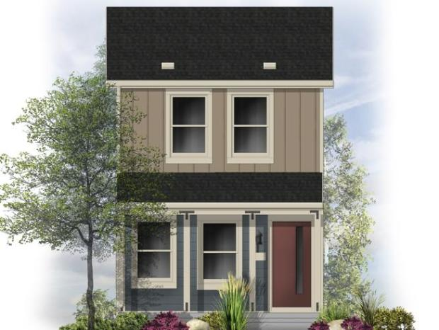 A rendering of a wee-Cottage to be built in the Blue Vista community in southeast Longmont.
