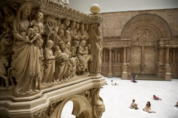 The Carnegie Museum of Art's Hall of Architecture in Pittsbergh. (Tom Little, The Washington Post)