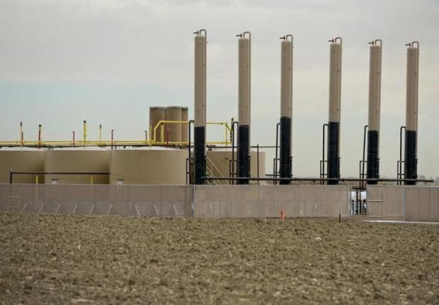 TOP Operating Co. oil and gas wells near Union Reservoir, which are now under control of Cub Creek Energy. Under an agreement reached with Longmont, the companies would no longer drill from the surfaces of properties within city limits.