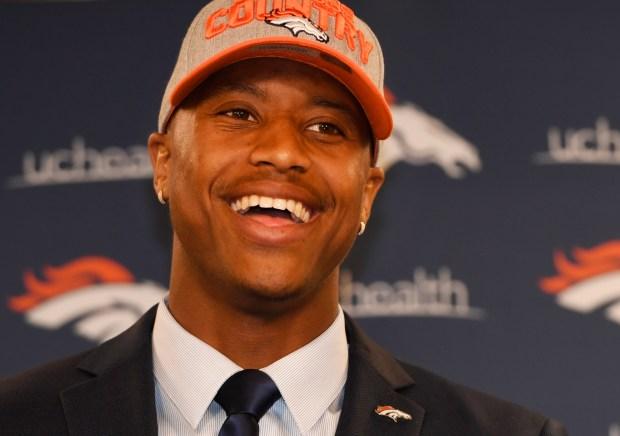 Denver Broncos second round draft pick ...