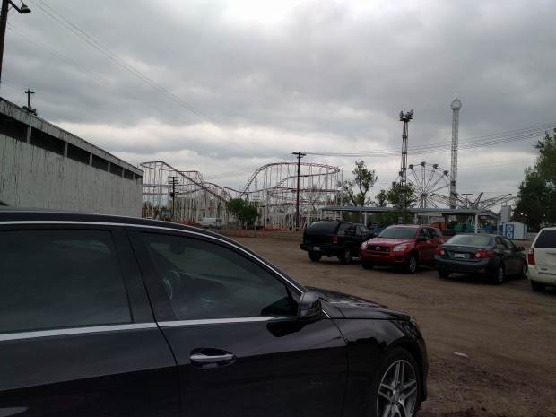 """Reddit.com user firetyrtle shared this picture to the r/sollercoasters subreddit on Saturday, May 12, 2018 with the caption """"Lakeside is getting a new coaster!"""" Officials with the amusement park confirm the new ride is due to open in June."""