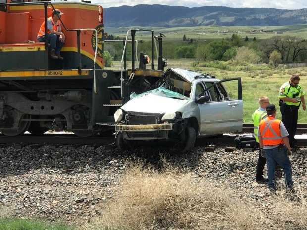 Two people are dead following a crash involving a train and a car in Douglas County, officials said Tuesday afternoon.