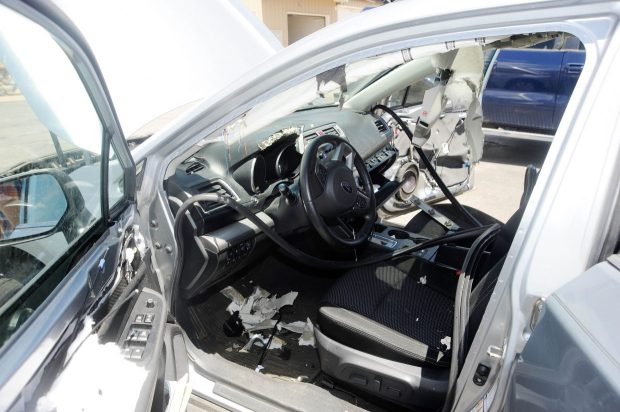 A bear broke into a Subaru Outback in the Tree Haus neighborhood just outside Steamboat Springs on Sunday.