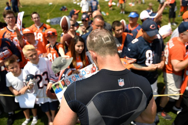 Denver Broncos linebacker Josey Jewell #59 ...