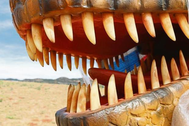 The Royal Gorge Dinosaur Experience will host a ribbon-cutting ceremony welcoming their new T. rex at 1 p.m. Oct. 6.