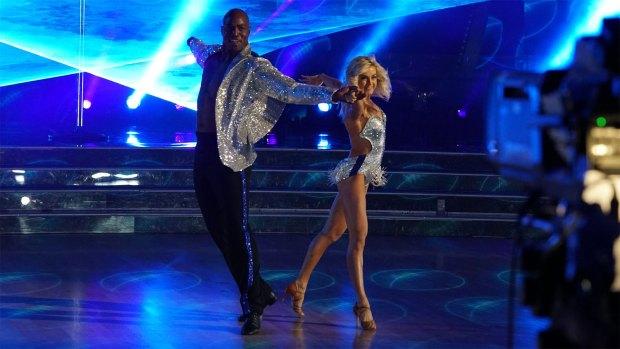 Former Broncos star DeMarcus Ware dances ...