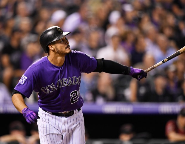 Solo home run for Colorado Rockies ...