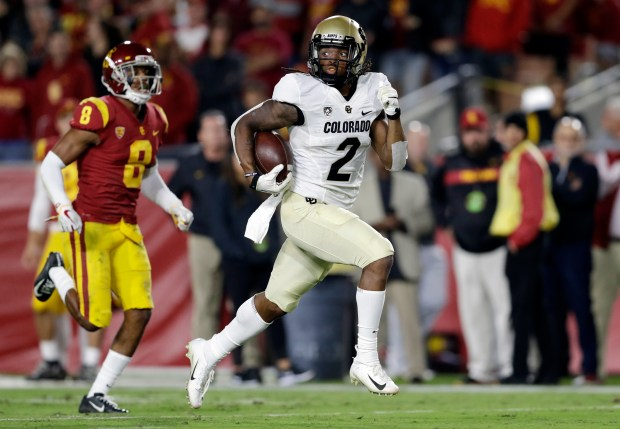 Colorado wide receiver Laviska Shenault Jr. ...