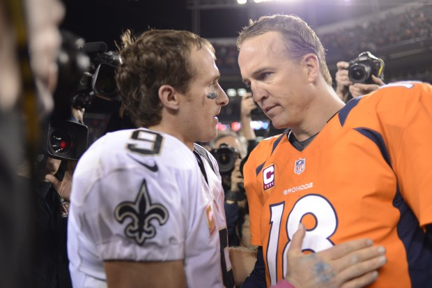 Drew Brees and Peyton Manning talk ...