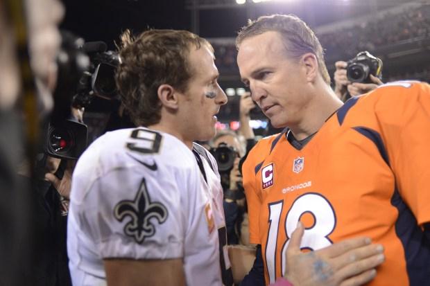 Drew Brees and Peyton Manning talk ...