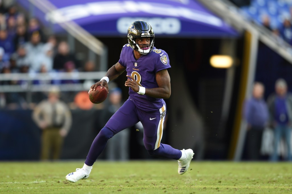 Around The Afc Lamar Jackson Full Time In Baltimore