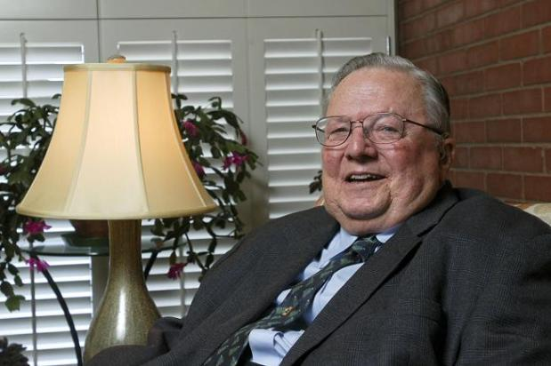 Times-Call Publisher Emeritus Ed Lehman talks about enjoying retirement and spending more time in his Longmont home in this Dec. 23, 2011, photo.