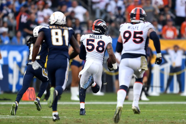 Outside linebacker Von Miller #58 of ...