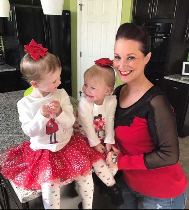Shanann Watts and her daughters Cece ...