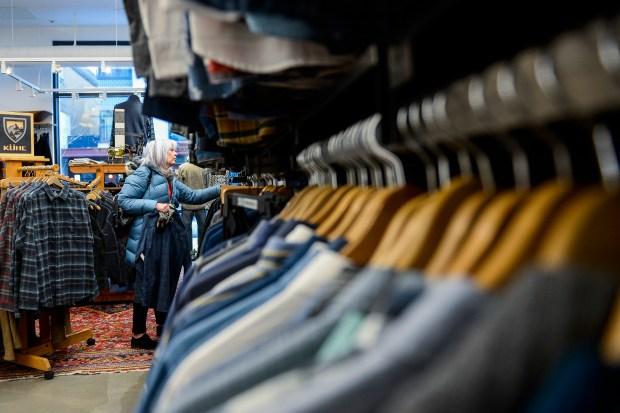 Julia Penland shops for her son ...