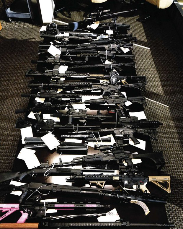 Denver Men Charged With Possession Of Machine Guns