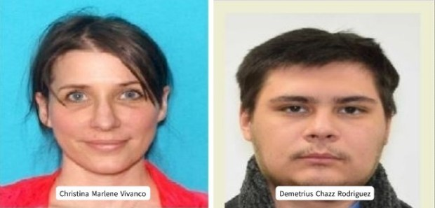 Christina Marlene Vivanco, 44, formerly of Louisville, and Jared Christopher Wolach, 39, were arrested Monday on charges of tampering with a deceased human body. (Courtesy Louisville Police Department)