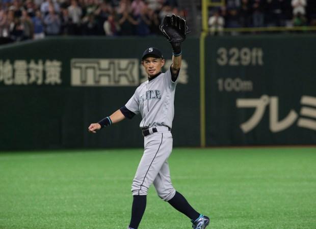Seattle Mariners right fielder Ichiro Suzuki ...