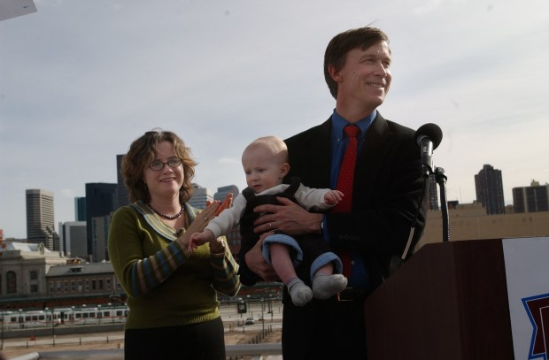 Businessman John Hickenlooper announced his candidacy ...