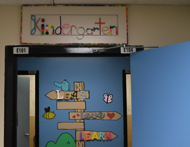 Westgate Elementary School has three kindergarten ...