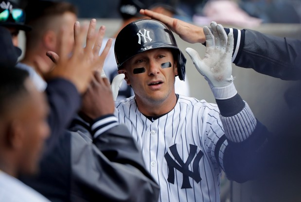 New York Yankees' Troy Tulowitzki is ...