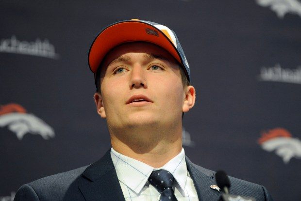 Drew Lock answers questions from the ...