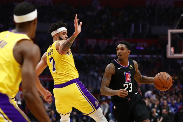 Lou Williams #23 of the Los ...