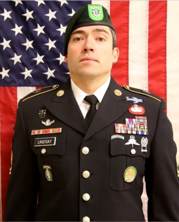 Sgt. 1st Class Will Lindsay, 33, ...