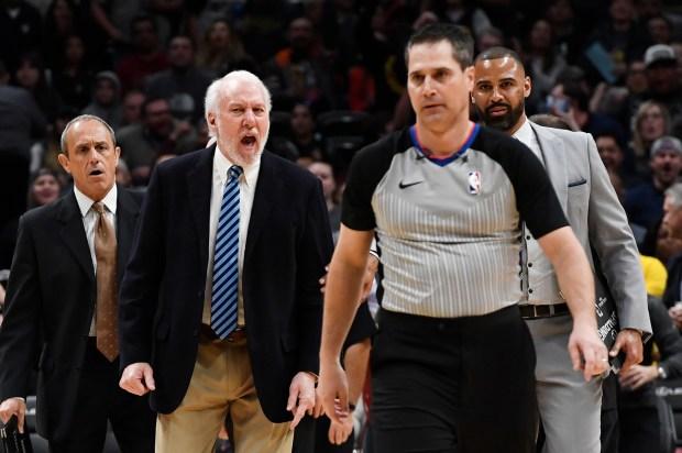 San Antonio Spurs head coach Gregg ...