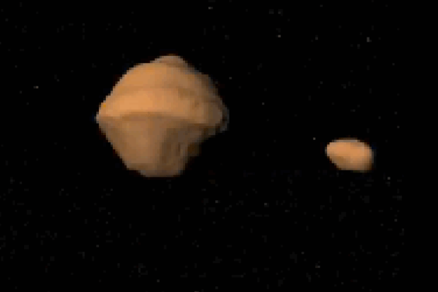 Oddly-shaped asteroid, with its own moon, making 3.2-million-mile pass of Earth