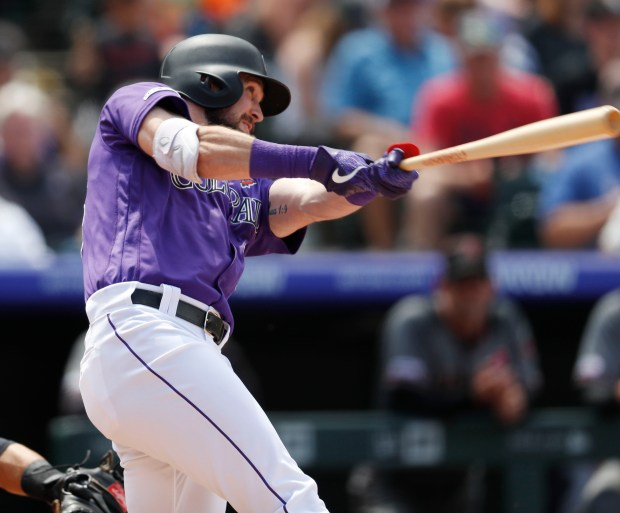 Colorado Rockies' David Dahl connects for ...